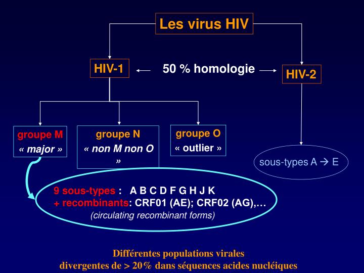 Les virus HIV