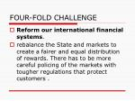 four fold challenge