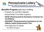 pennsylvania lottery benefits older pennsylvanians every day