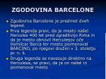 zgodovina barcelone
