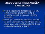 zgodovina pristani a barcelona