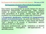 dai programmi alle indicazioni nazionali nelle superiori dai prog ai psp2