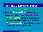writing a research paper13
