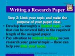 writing a research paper2