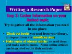 writing a research paper4
