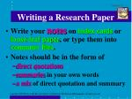 writing a research paper6