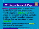 writing a research paper7