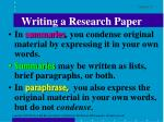 writing a research paper8