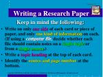 writing a research paper9