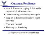 outcome resiliency