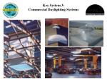 key system 3 commercial daylighting systems