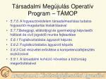 t rsadalmi meg jul s operat v program t mop22