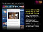 citizen journalists report news as it unfolds