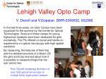 lehigh valley opto camp v dierolf and v gopalan dmr 0349632 602986