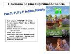 ii semana de cine espiritual de galicia5