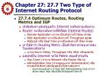 chapter 27 27 7 two type of internet routing protocol3