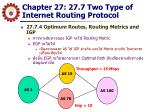 chapter 27 27 7 two type of internet routing protocol4