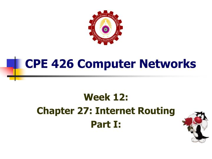 cpe 426 computer networks n.