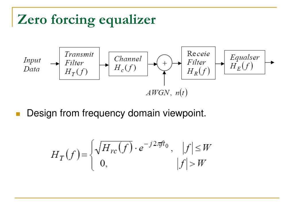 PPT - Equalization PowerPoint Presentation, free download - ID:3904498SlideServe