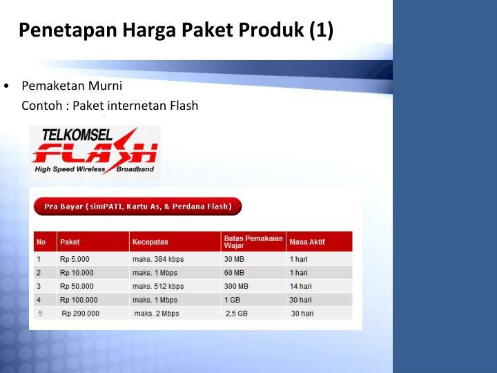 Penetapan Harga Paket Produk (1)