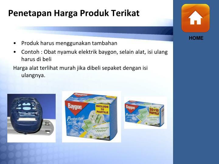 Penetapan Harga Produk Terikat