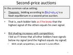 second price auctions1