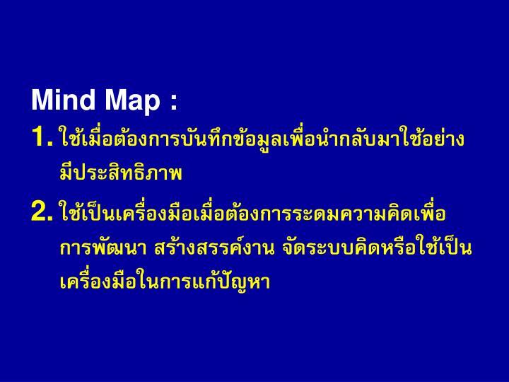 Mind Map :