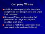 company officers