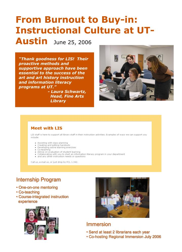 Ppt Internship Program One On One Mentoring Co Teaching Course
