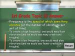 1st grade topic 10 answer