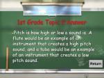 1st grade topic 9 answer