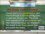 4th grade topic 4 answer