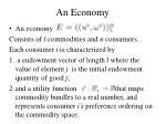 an economy