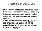 implications of walras law3