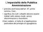 l imparzialit della pubblica amministrazione