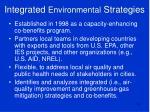 integrated environmental strategies