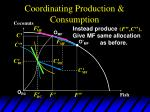 coordinating production consumption12