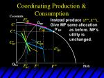 coordinating production consumption13