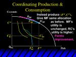 coordinating production consumption17