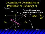 decentralized coordination of production consumption12