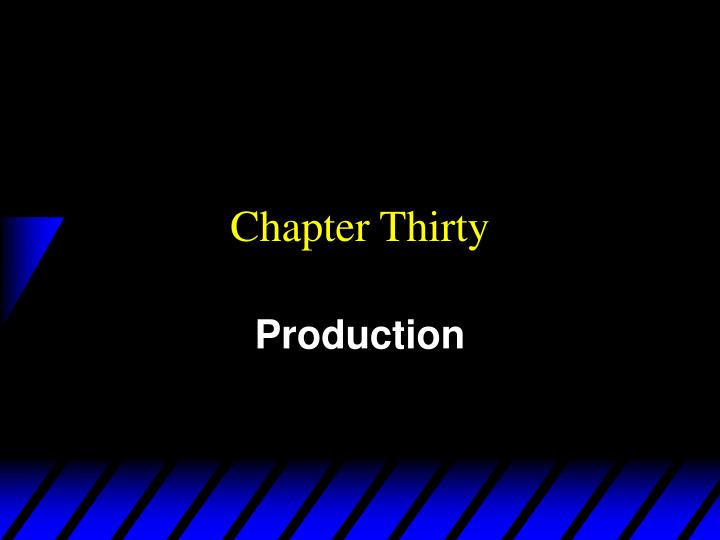 chapter thirty n.