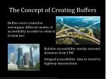 the concept of creating buffers