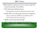 dpc s views