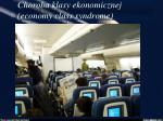 choroba klasy ekonomicznej economy class syndrome