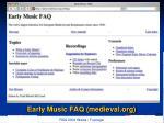 early music faq medieval org