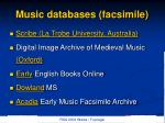 music databases facsimile4