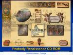 peabody renaissance cd rom5