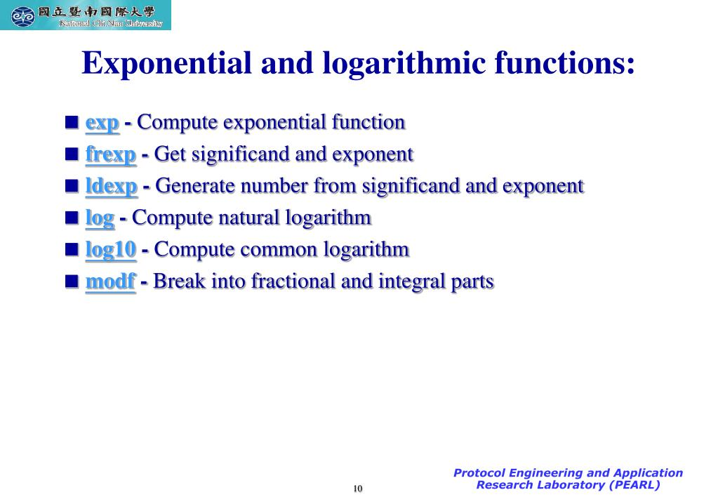 Ppt Math Functions In C Language Powerpoint Presentation