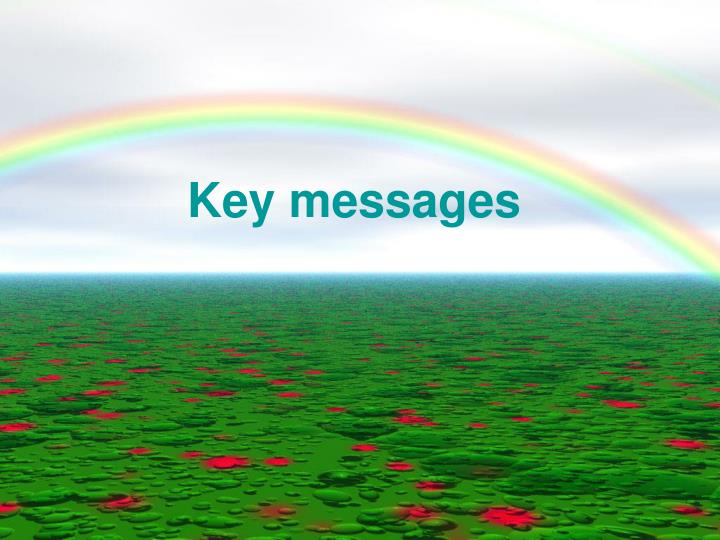 key messages n.