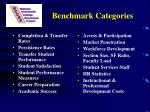 benchmark categories
